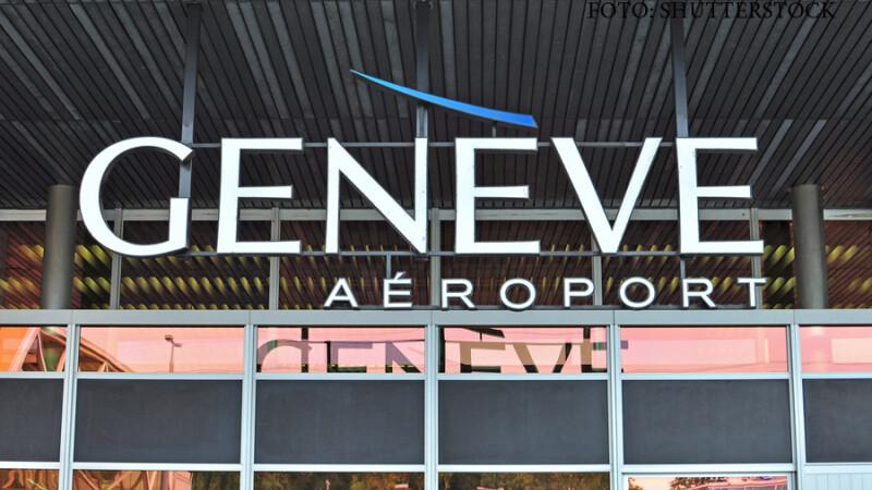 aeroportul din Geneva