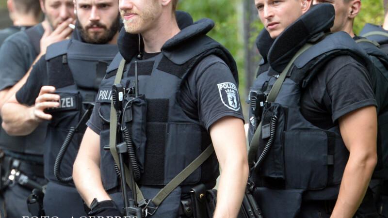 agenti germani de politie