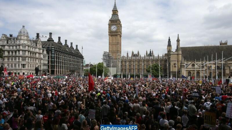 Proteste in Londra