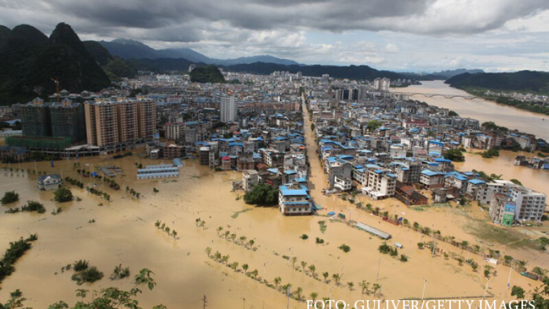 inundatii in Liuzhou, China