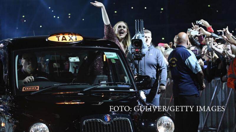 Adele la Wembley Stadium, dupa concert