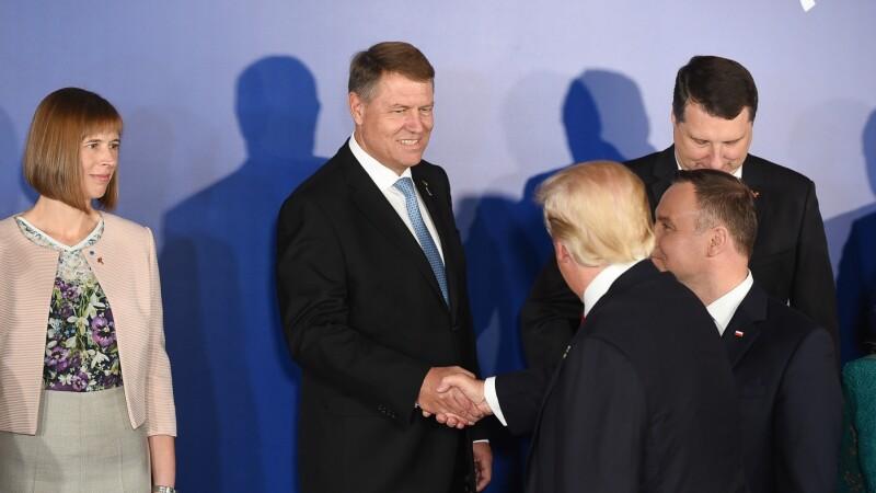 Donald Trump - Klaus Iohannis
