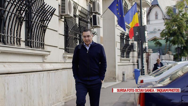 Victor Ponta soseste la sediul Inaltei Curti de Casatie si Justitie, in Bucuresti