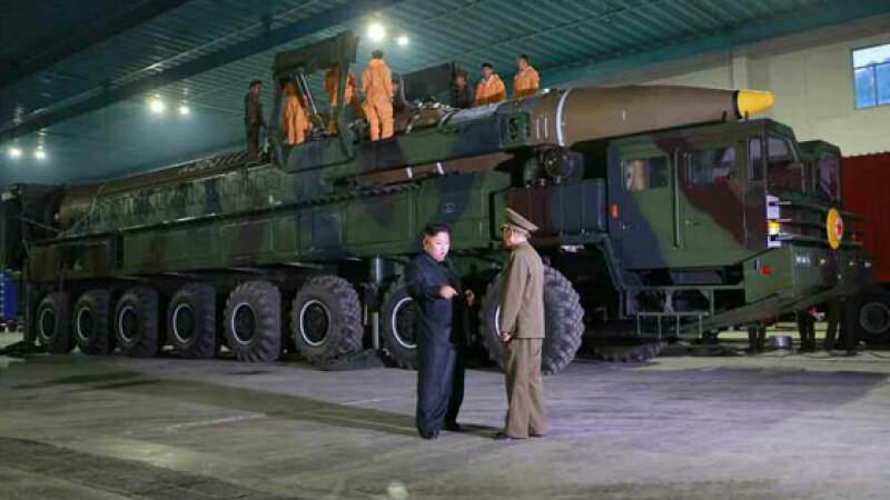 racheta nord-coreeana, Kim Jong-Un