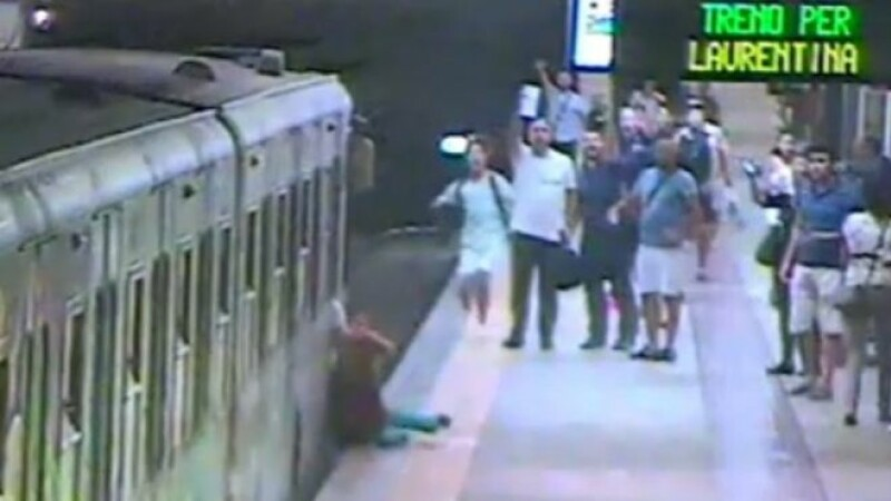 metrou, roma, accident,
