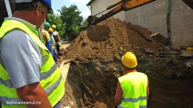 O echipa de muncitori din Dorohoi a dat peste un proiectil neexplodat, in timp ce sapau la tevile de apa. Ce au facut apoi
