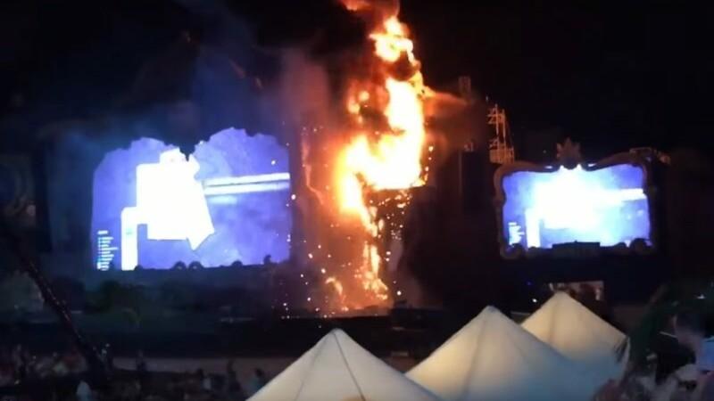 Incendiu Barcelona