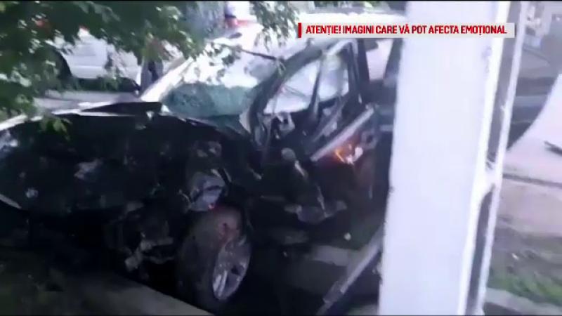Șoferul care a provocat accidentul din Olt a fost arestat preventiv. Pasagerul l-ar fi atenționat