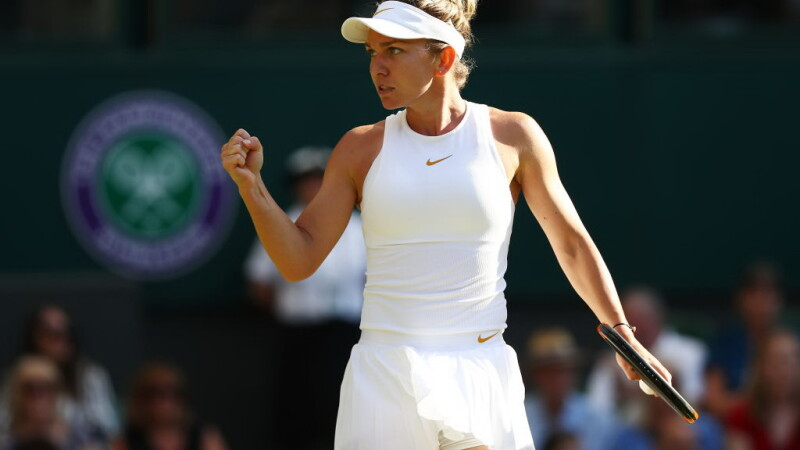 Simona Halep, Wimbledon 2018