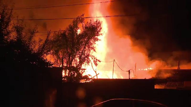 Incendiu la Arad