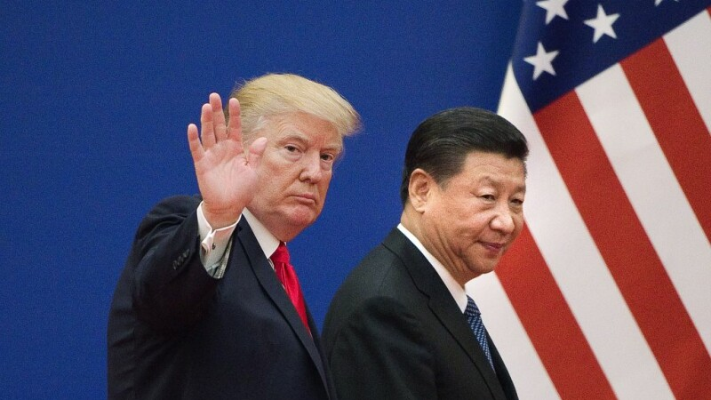 Donald Trump si Xi Jinping