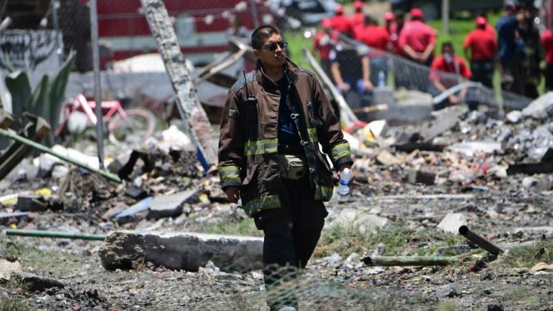 Explozie la un depozit de artificii. 24 de persoane au murit, 40 au fost rănite