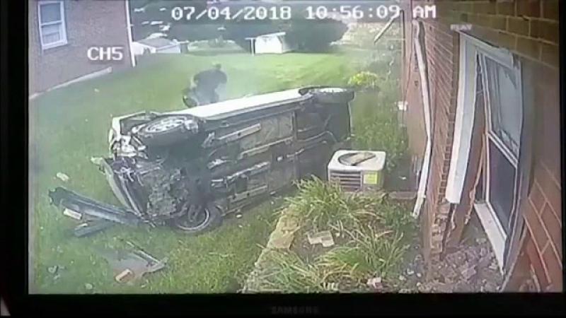 masina in casă