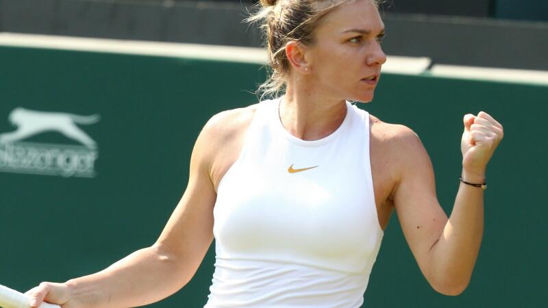 Simona Halep Su-Wei Hsieh Wimbledon 2018.