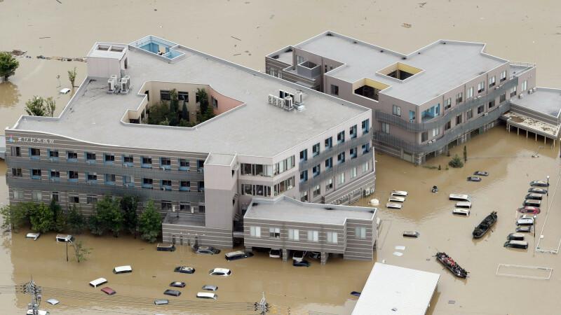 Una dintre cele mai mari catastrofe din Japonia. Cel puțin 104 morți și 50 de dispăruți