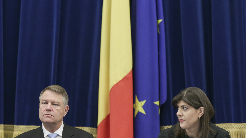 Laura Codruța Kovesi, Klaus Iohannis