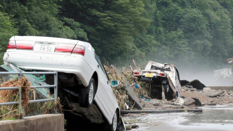 Dezastru în Japonia: 179 de morţi în urma inundațiilor și alunecărilor de teren