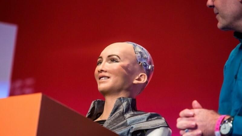 Robotul Sophia a prezis ce națională va câștiga Cupa Mondială de Fotbal. VIDEO