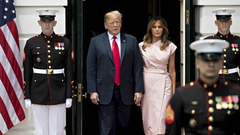 Cum va fi întâmpinat Trump de Regina Elisabeta, în vizita de lucru la Castelul Windsor