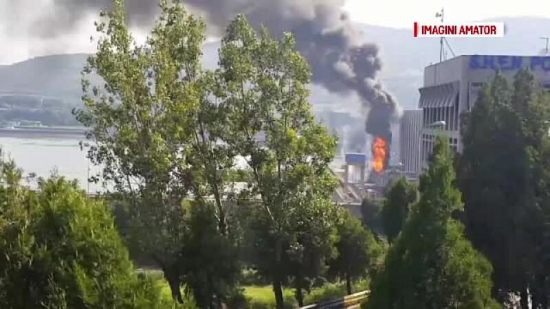 Pericol de explozie la Hidrocentrala Porțile de Fier