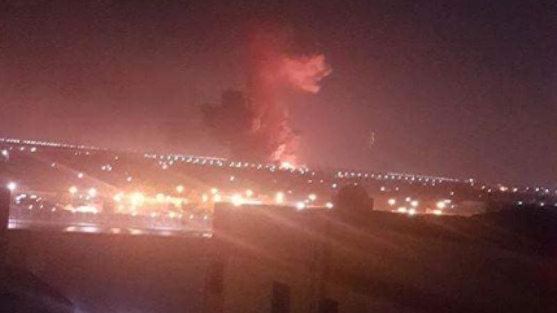 Explozie puternică lângă aeroportul din Cairo. VIDEO