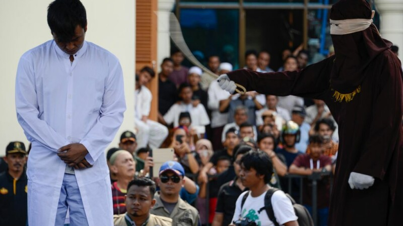 Persoane biciuite in Indonezia