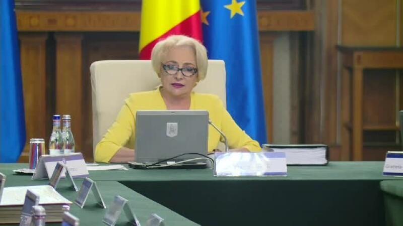"""Viorica Dăncilă a făcut noi greșeli gramaticale: """"Să ne anexăm pe prevenție"""""""
