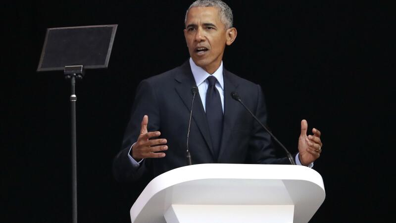 """Barack Obama, discurs în Africa de Sud: """"Liderii politici nu mai au deloc ruşine"""""""