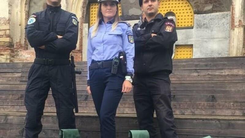 MAI, polițiști