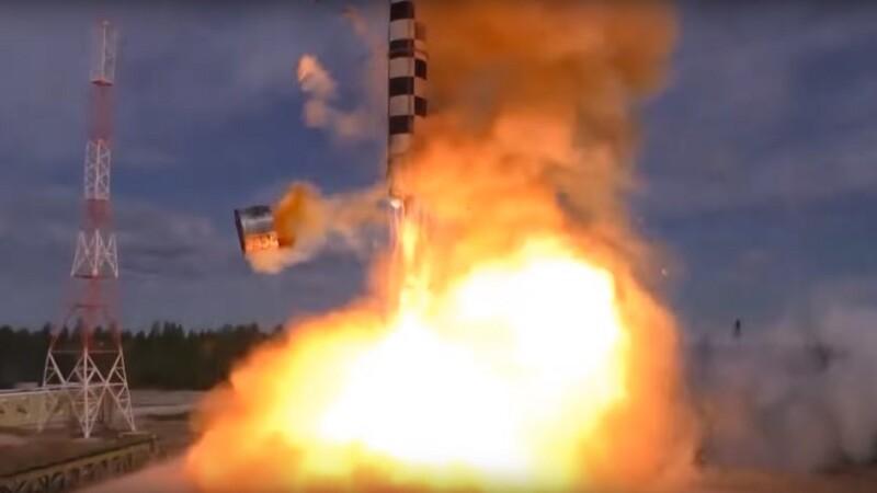 test racheta Sarmat