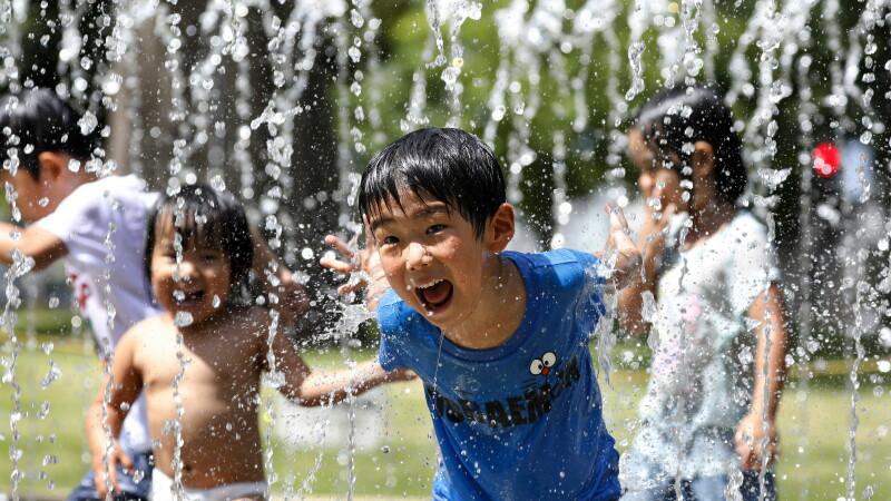 Temperaturi record, de până la 41 de grade, în Japonia