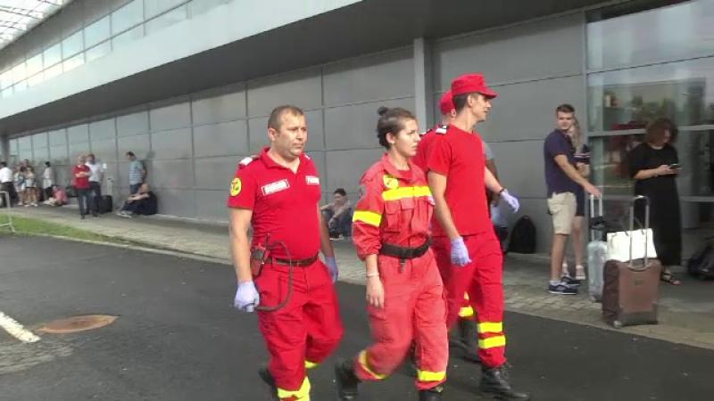 Anunțul ISU despre substanţa detectată în aeroportul Sibiu, evacuat joi
