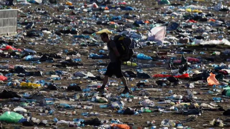 gunoaie plastic