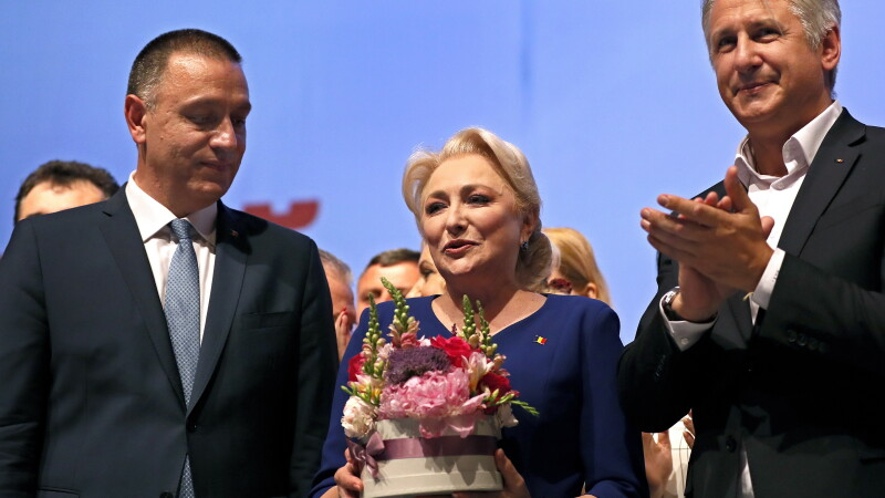 Mihai Fifor, Viorica Dancila, Eugen Teodorovici