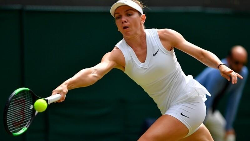Halep - Zhang la Wimbledon 7-6 6-1. Simona Halep a ajuns în semifinale, la Wimbledon
