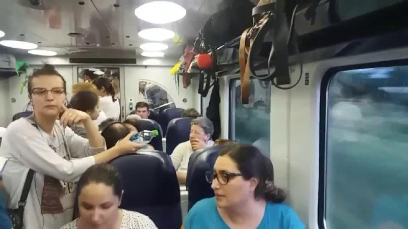 Motivul pentru care CFR transportă călătorii în condiții de speriat. Mărturiile pasagerilor