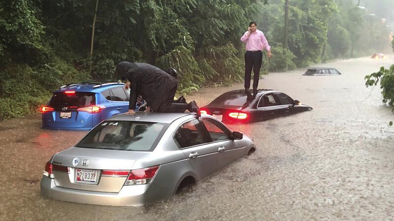 Ploaia torențială a făcut ravagii în Washington - 4