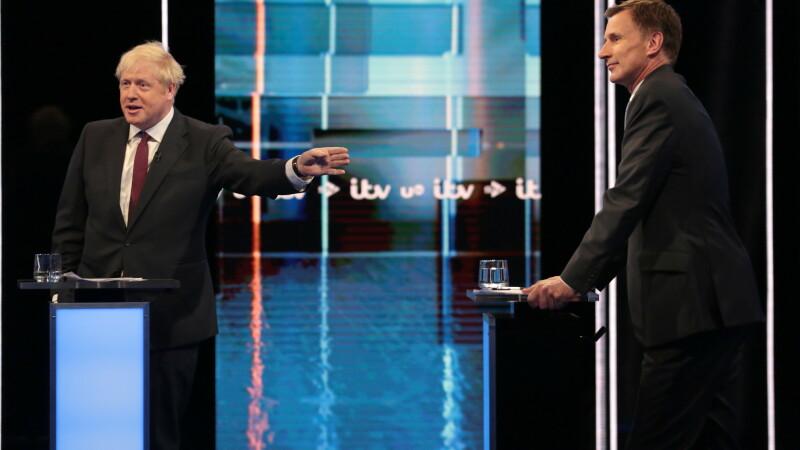 Boris Johnson şi Jeremy Hunt
