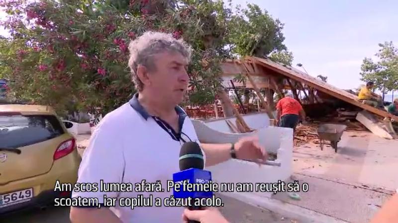 Mărturia şocantă a patronului terasei din Halkidiki unde au murit o româncă și fiul ei