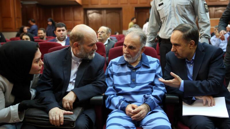 Mohammad Ali Najafi la tribunal