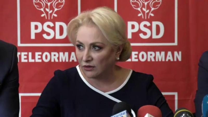 Premierul Viorica Dăncilă îl atacă pe Iohannis, după decizia CCR: \