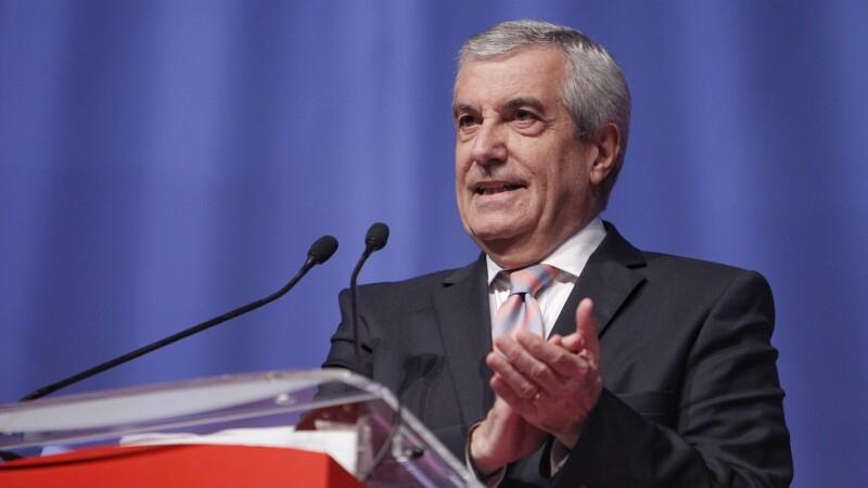 Calin Popescu Tariceanu vorbeste la deschiderea congresului Partidului Social Democrat