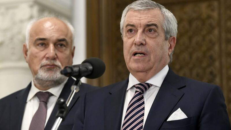 Varujan Vosganian, Calin Popescu Tariceanu