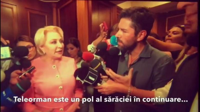 """Reacţia premierului când Alex Dima întreabă despre sărăcia din Teleorman: """"Vă rog să nu mai vorbiţi aşa!"""""""