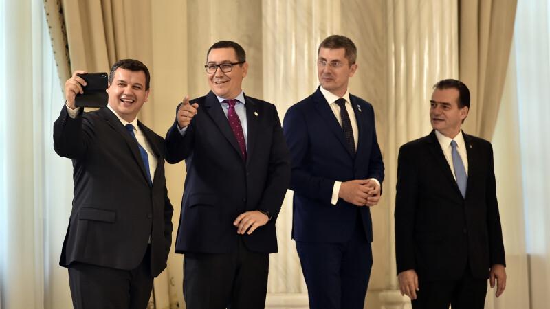 Eugen Tomac, Victor Ponta, Dan Barna, Ludovic Orban