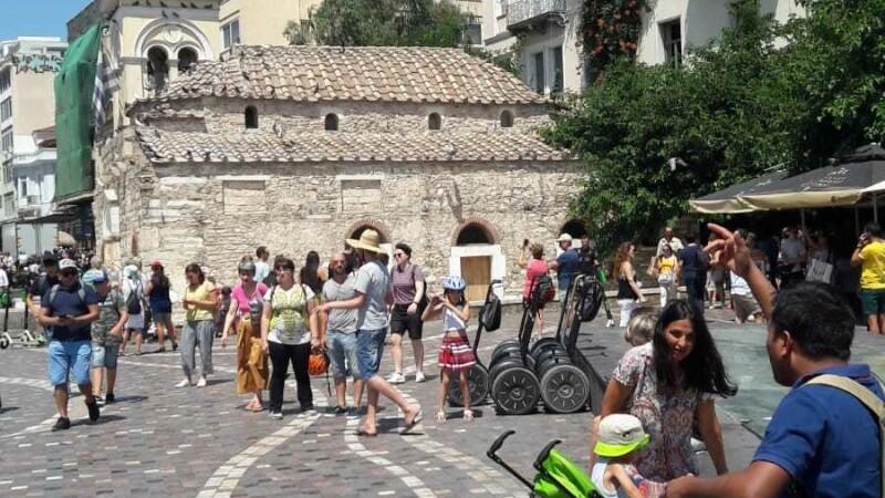 Cutremurul din Grecia a creat panică printre turiști. IMAGINI din timpul seismului - 6