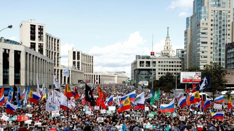 manifestatie moscova