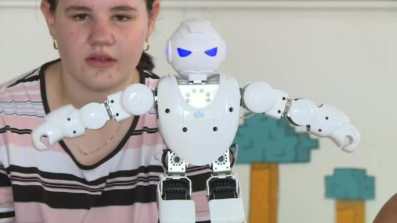 copil, robot