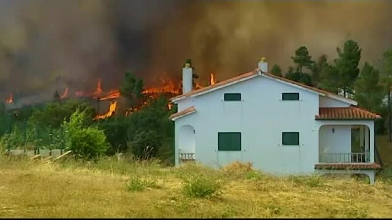 Portugalia, incendiu