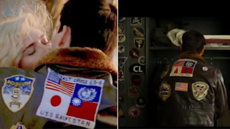 Imagine controversată în noul film Top Gun